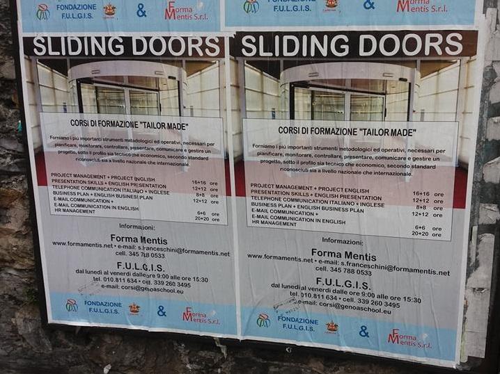Progetto SLIDING DOORS