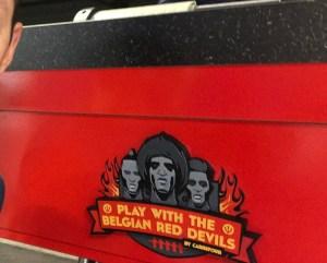 Rode Duivels plaat kicker_3D print Formando