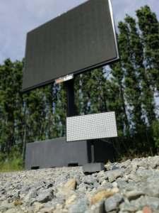 Scale model LED TV totem_Maxled + Formando