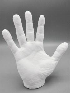 3D scan print polyamide hand