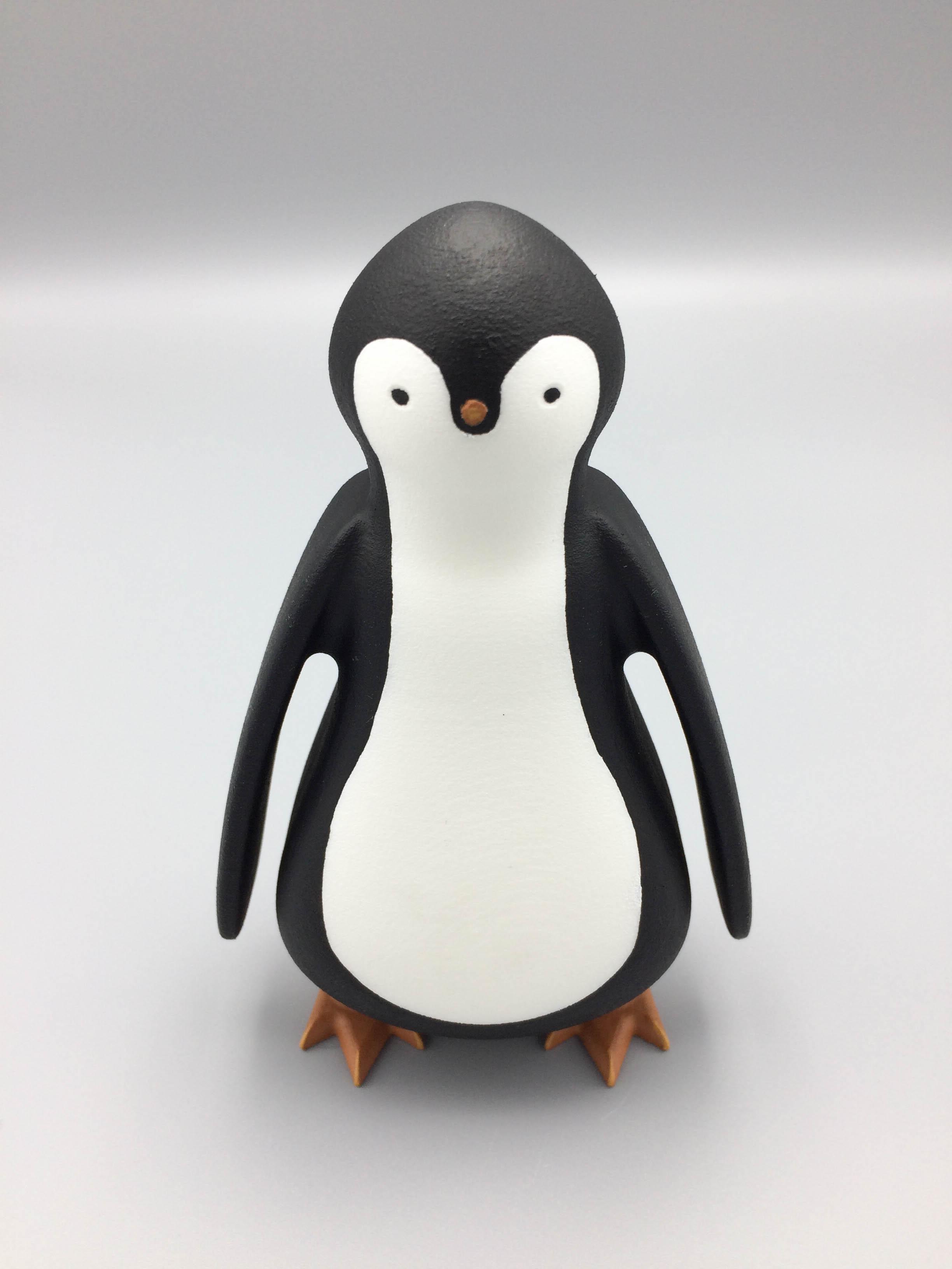 Penguin 3D print mascot penguin