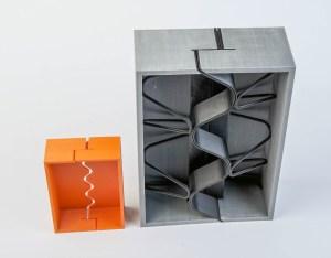 3D print uitzetvoeg HCJ bedrijfsvloeren