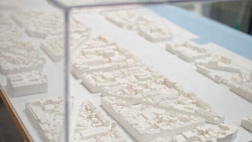 Maquette inplanting Antwerpen Zuid