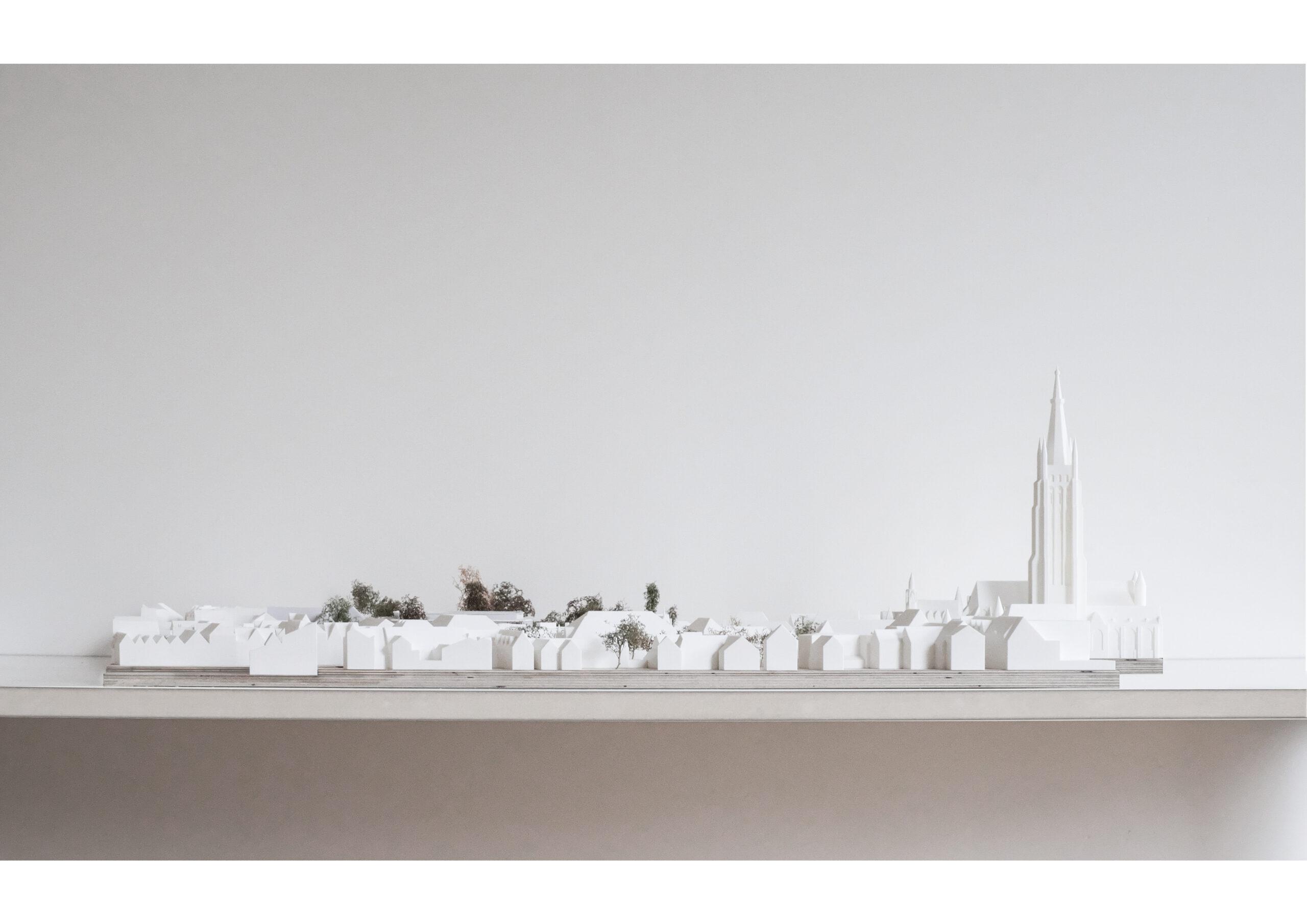 FDM print maquette Brugge
