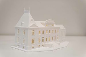 Maquette hoeve kasteel