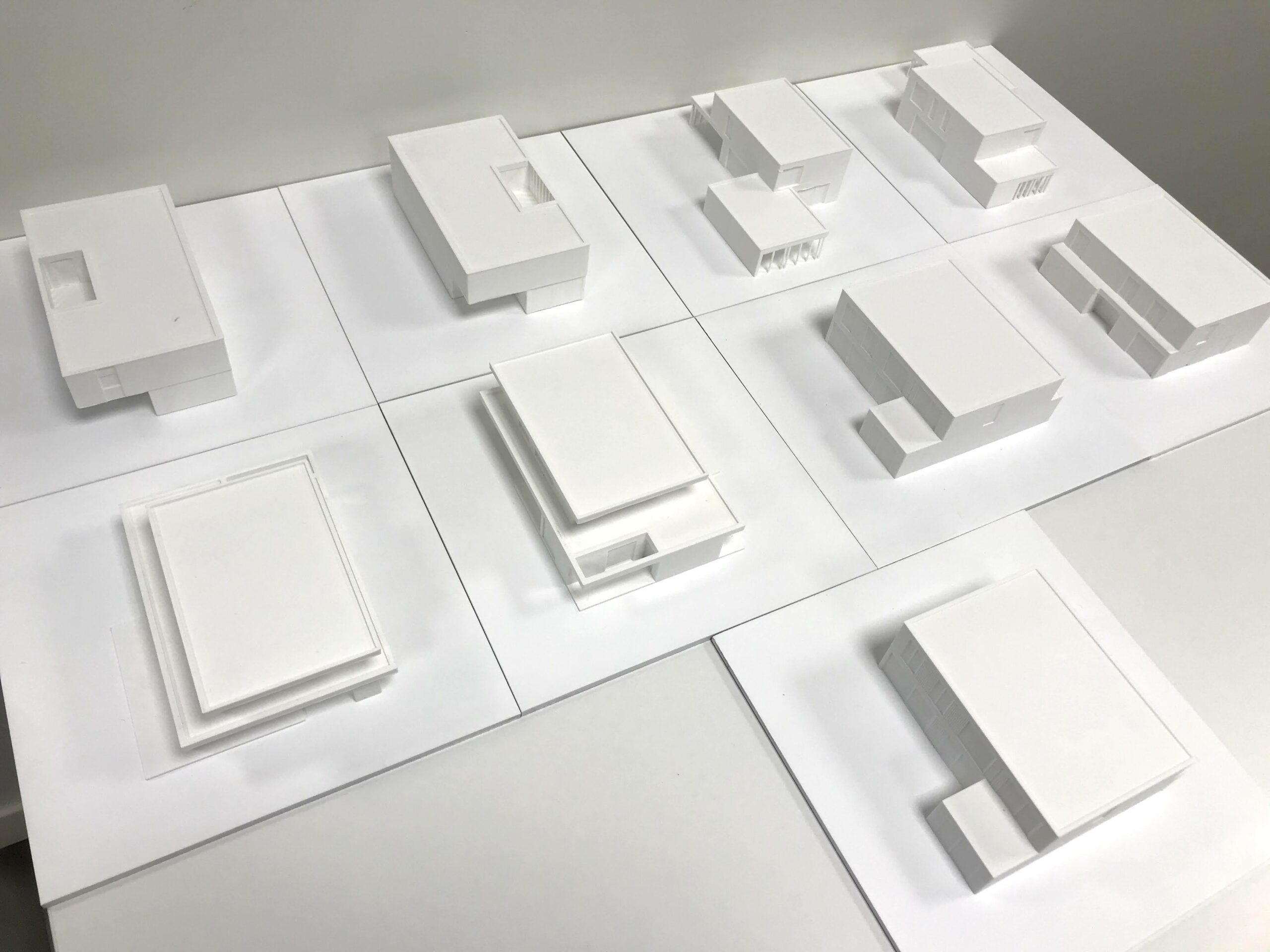 Maquette voor architect Hansi Ombregt door Formando