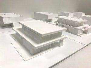 Maquette voor architect Hansi Ombregt door Formando