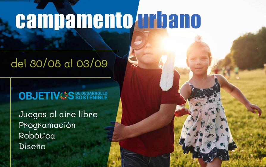 campamento urbano septiembre Madrid
