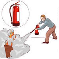 Faire face à un début d'incendie ?