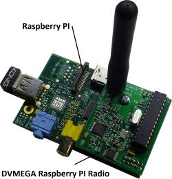 Un nodo D-Star portatile con 10mw di potenza.