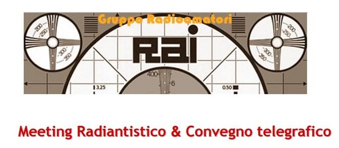 ROMA 5 dicembre: Convegno Telegrafico Nazionale –  Dab+, radioascolto e Mercatino.