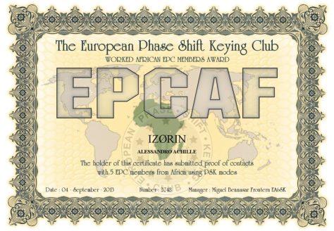 IZ0RIN-EPCMA-EPCAF