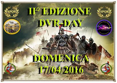 D.V.R. (Diploma Vestigia Romane) DAY – 17 Aprile 2016