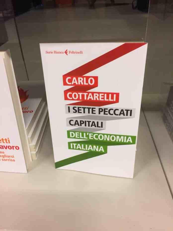 I sette peccati capitali dell'economia italiana di Carlo Cottarelli