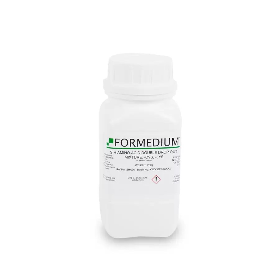 SIH drop-out mixture, minus Cysteine and w/o Lysine, 7645 mg/l