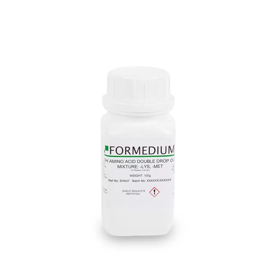 SIH drop-out mixture, minus Lysine and w/o Methionine, 7595 mg/l