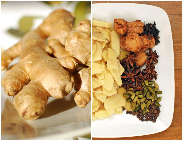 Ginger Syrup Ingredients