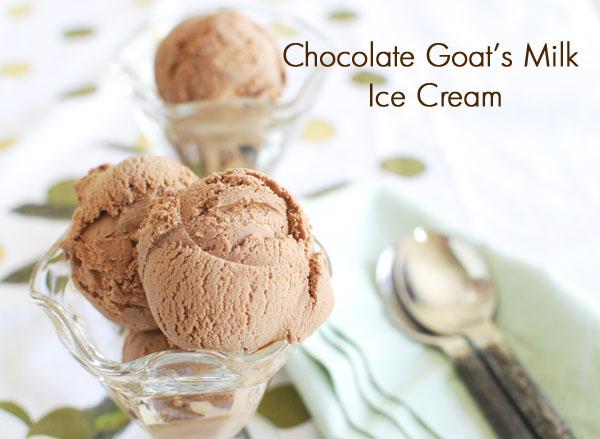 How to make raw goat milk ice cream