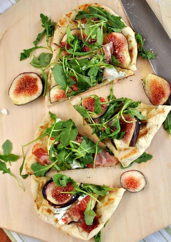 Flatbread with Figs and Prosciutto