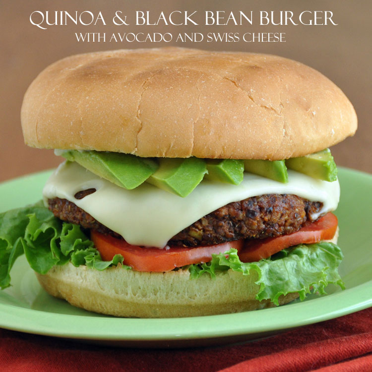 How to make for a flavorful and satisfying veggie burger made from quinoa and black beans. Recipe from the book Grain Mains.