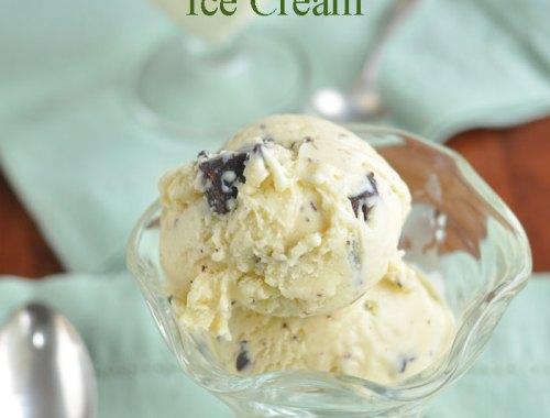 Ginger Chocolate Chunk Ice Cream
