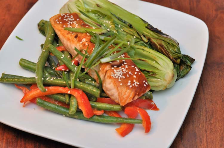 Home Chef Tonkatsu Salmon in Home Chef vs Blue Apron Review