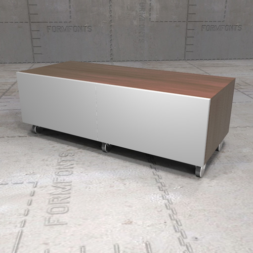 IKEA Besta Bench 3D Model FormFonts 3D Models Amp Textures