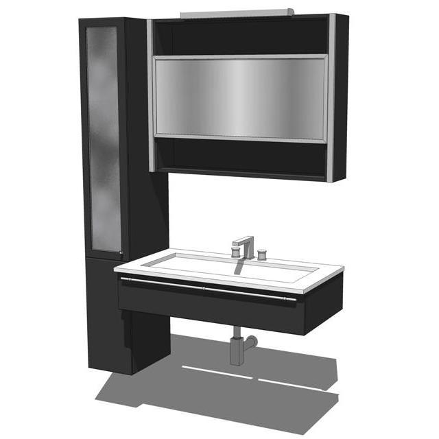Lucilla Bathroom 3D Model FormFonts 3D Models Amp Textures