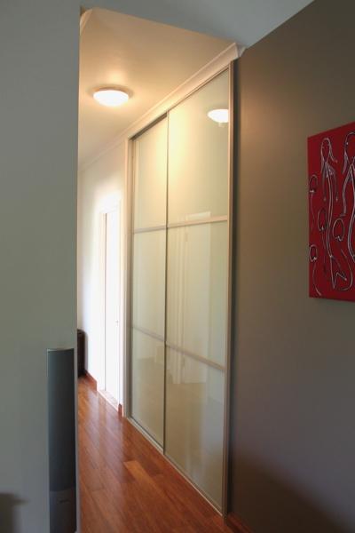 Hallway Cupboard Glass Sliding Doors