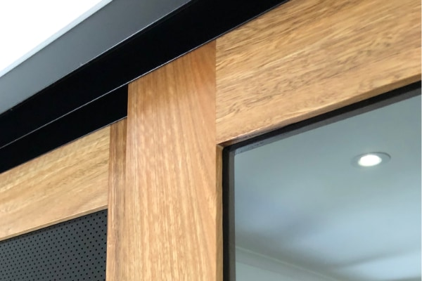 Sliding Gum Timber Sliding Wardrobe Doors
