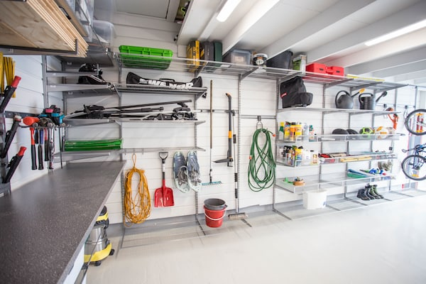 elfa garage utility storage