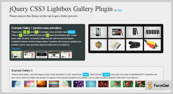 5+ jQuery Lightbox Plugins (Free and Paid) | FormGet