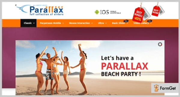 4+ Best jQuery Parallax Plugins (Free and Paid) | FormGet