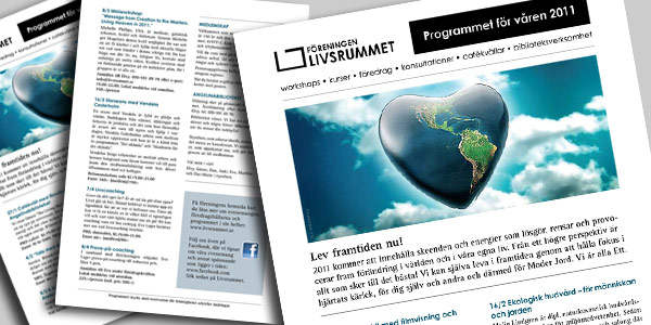 Livsrummets programblad VT 2011