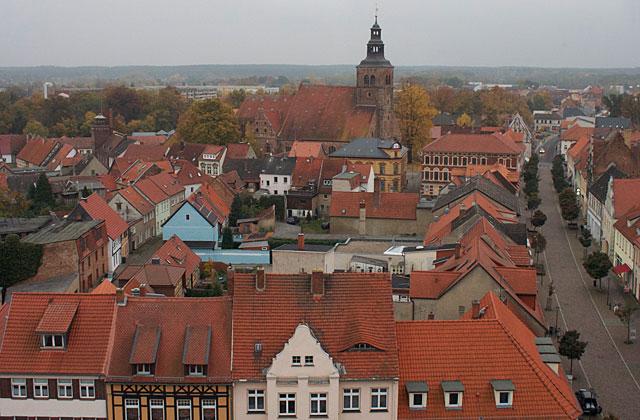 Gardelegen - utsikt från klocktornet