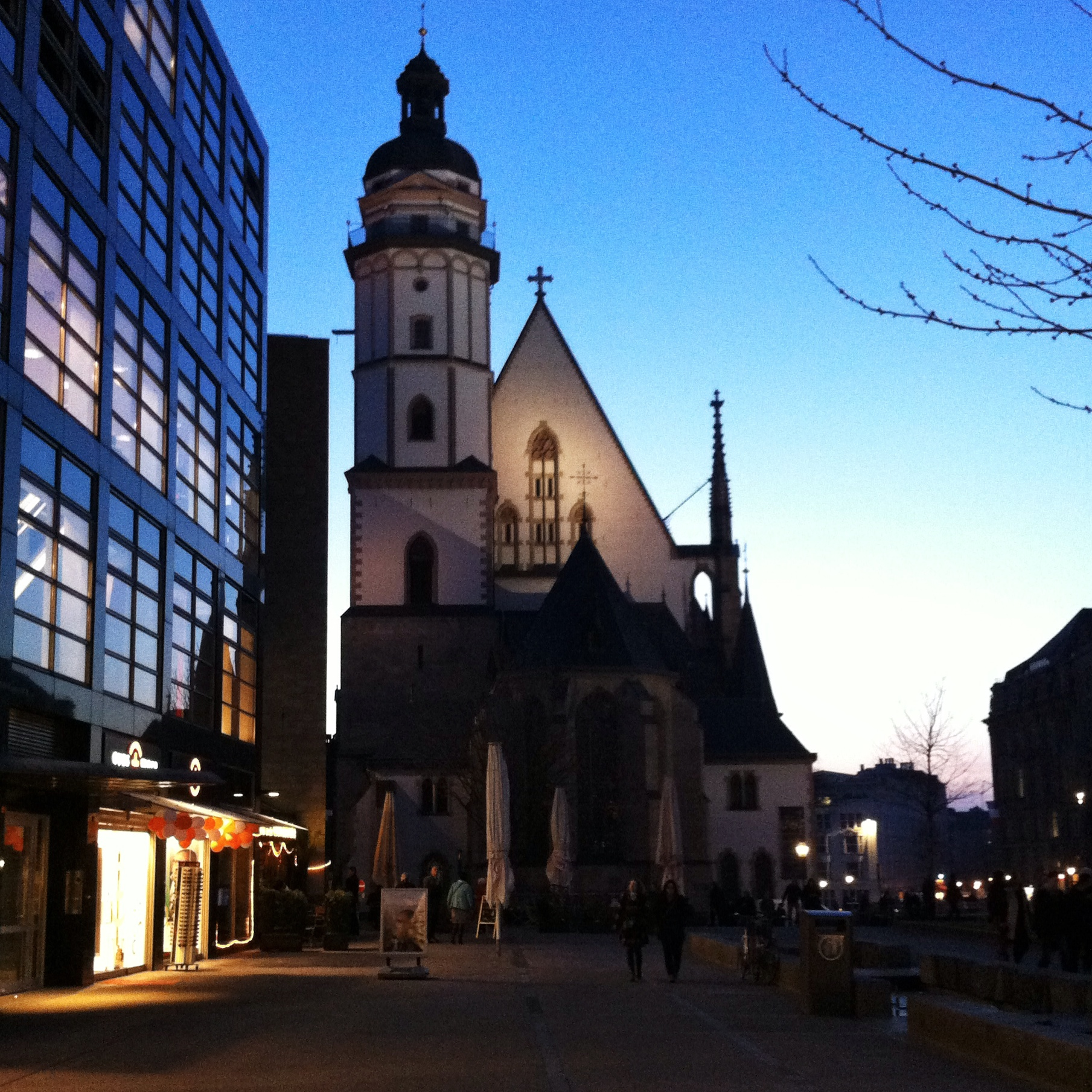 Thomaskirche. Foto: Ingrid Carlsson