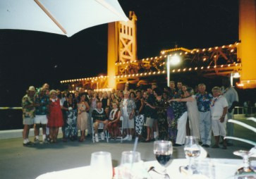 Sacramento River Wedding Reception