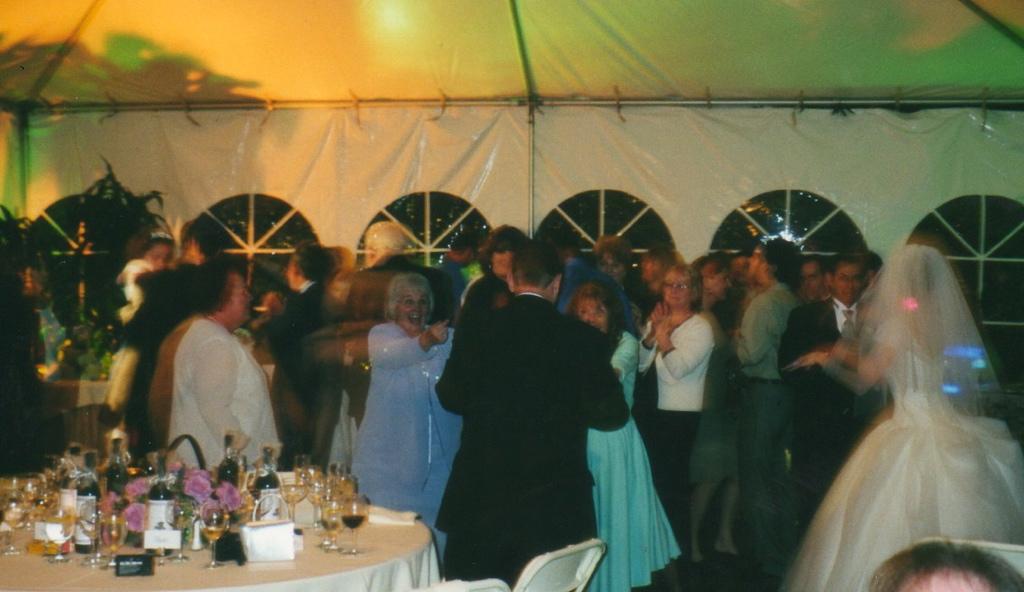 Fess Parker's wedding reception