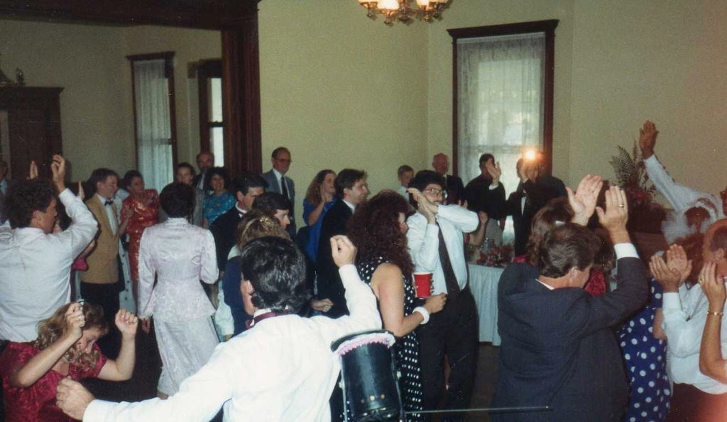 Wedding reception Concord style
