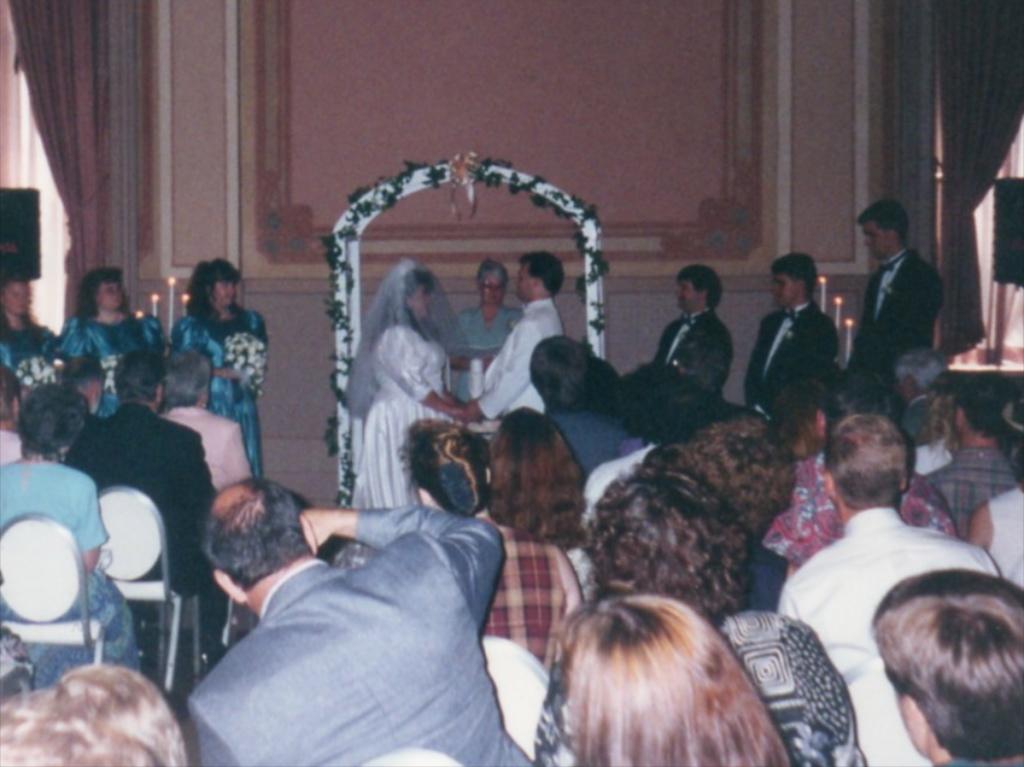 Capital Plaza Halls ceremony