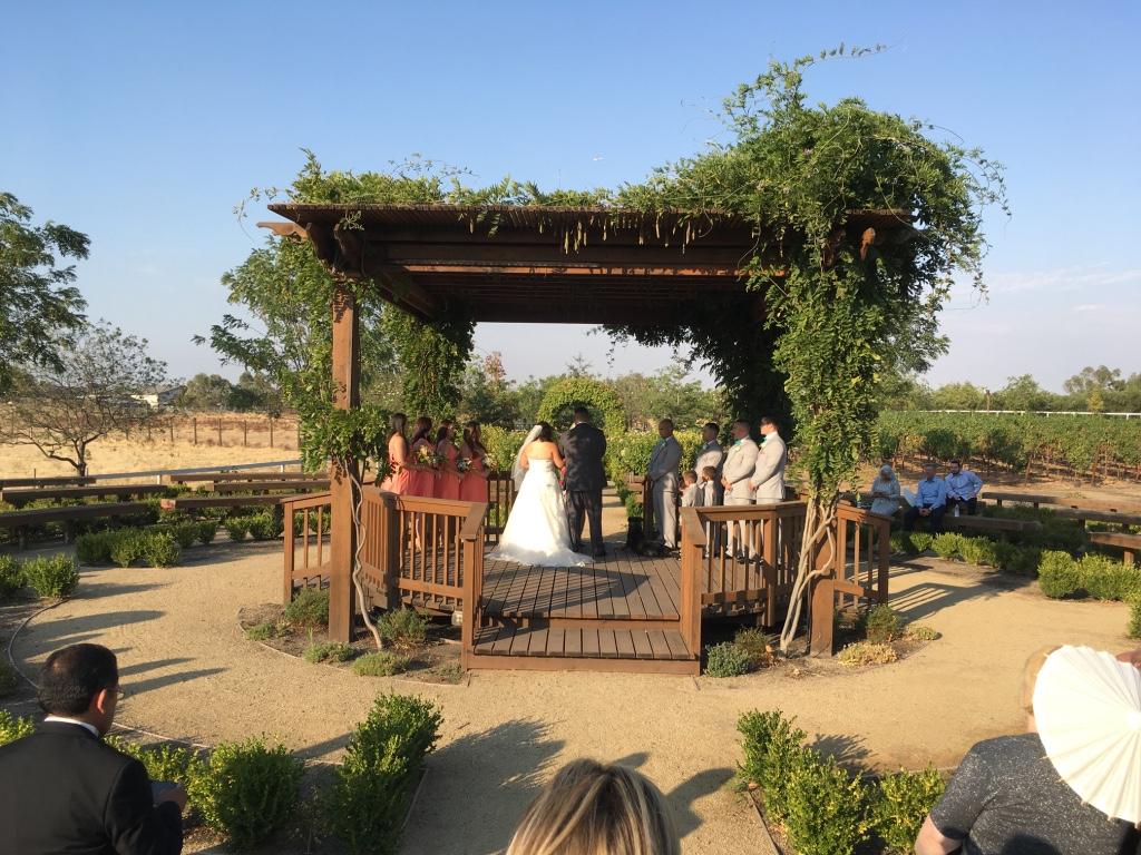 Wolfe Heights ceremony