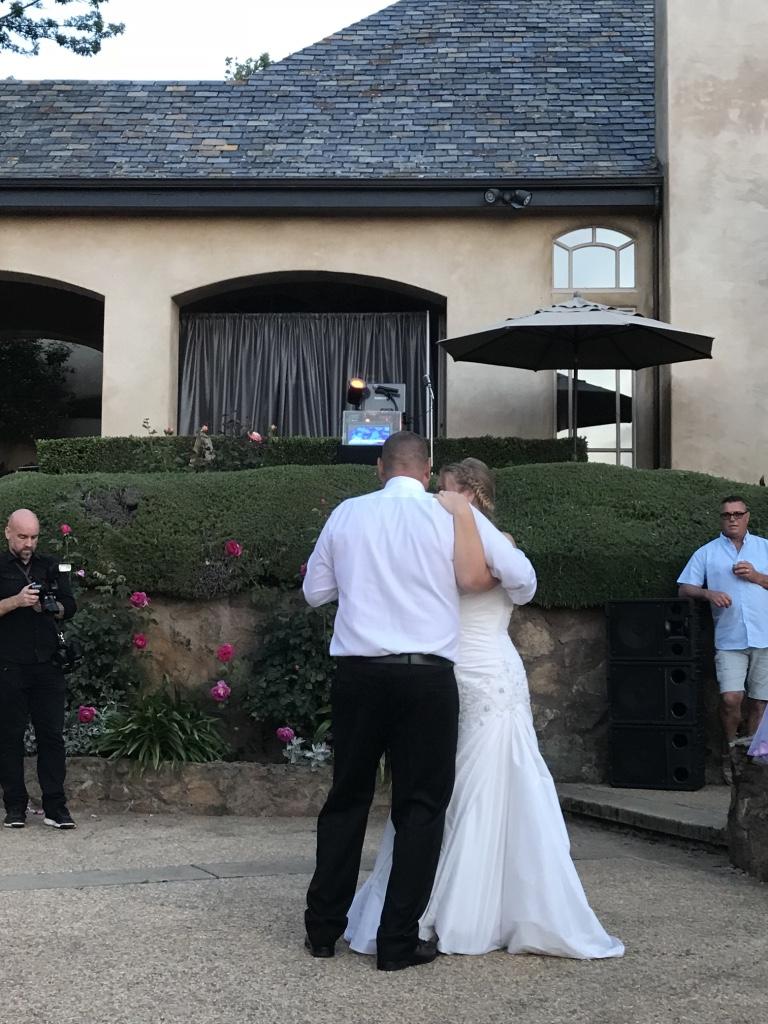 Devancy Chateau first dance