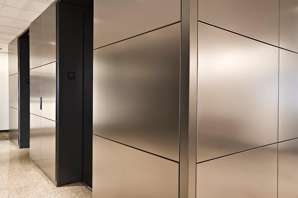 LEVELe Wall Cladding System Architectural FormsSurfaces