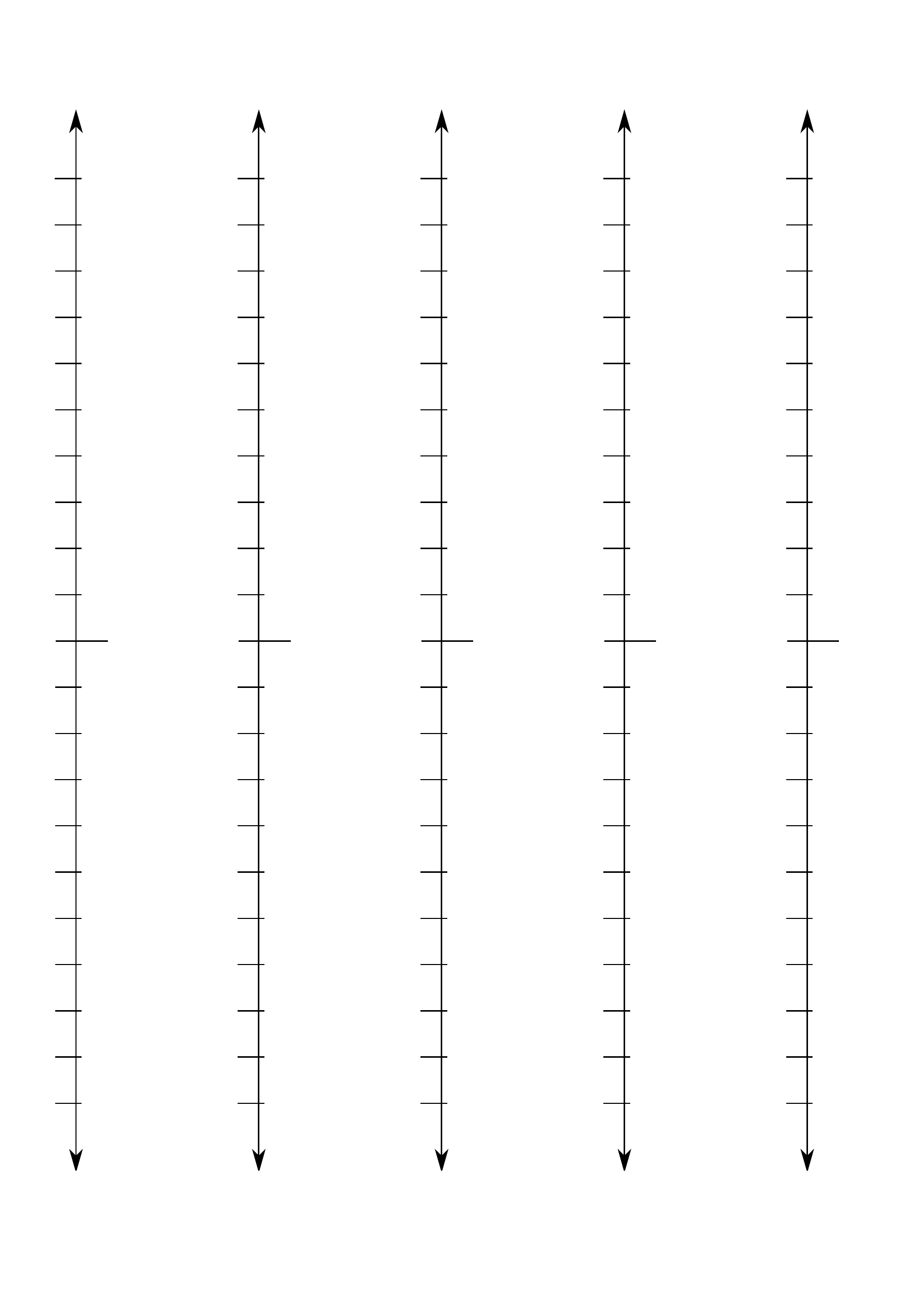 Vertical Line Worksheet