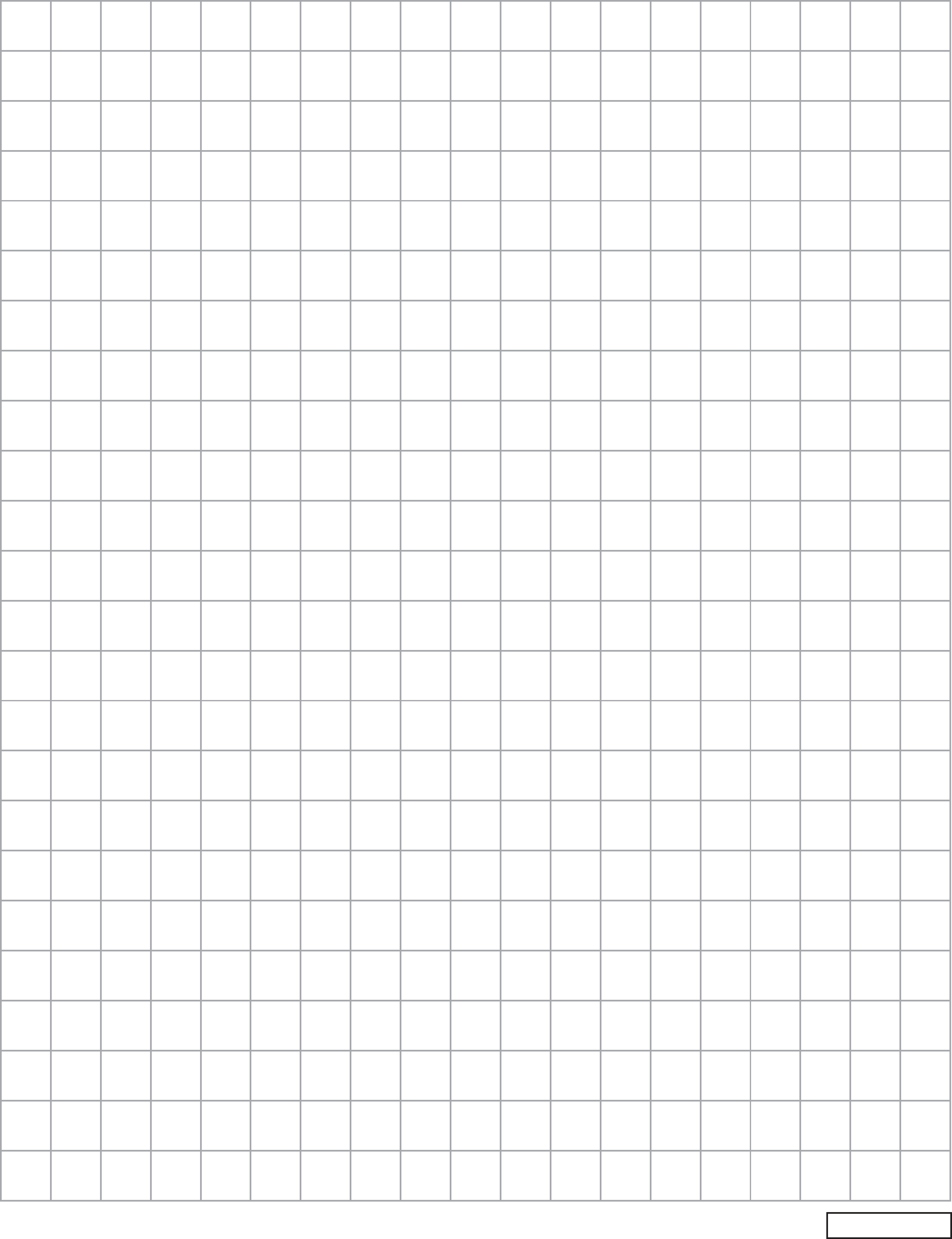 Blank Bar Graph Paper Template