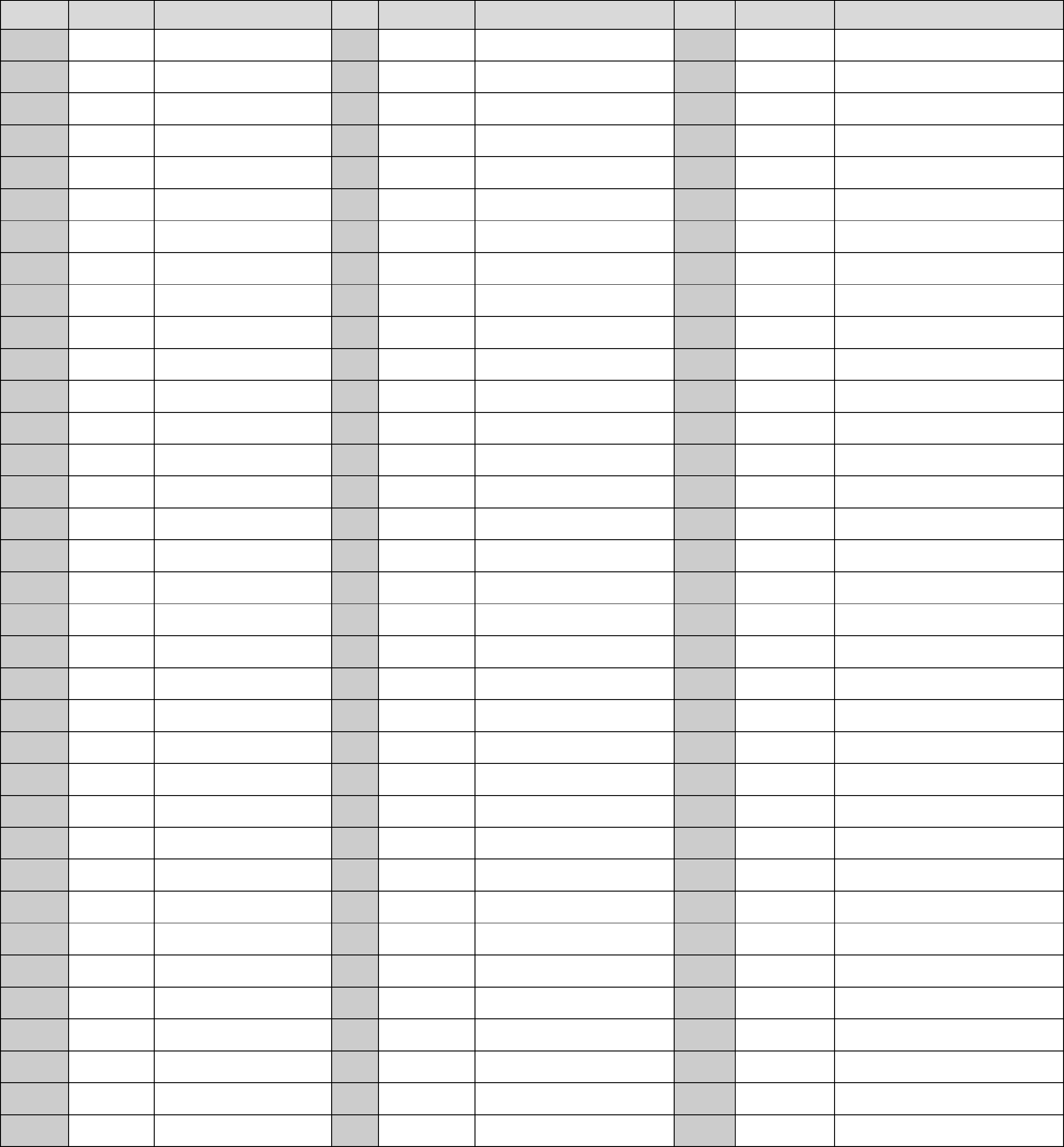 Basic Roman Numeral Chart Free Download