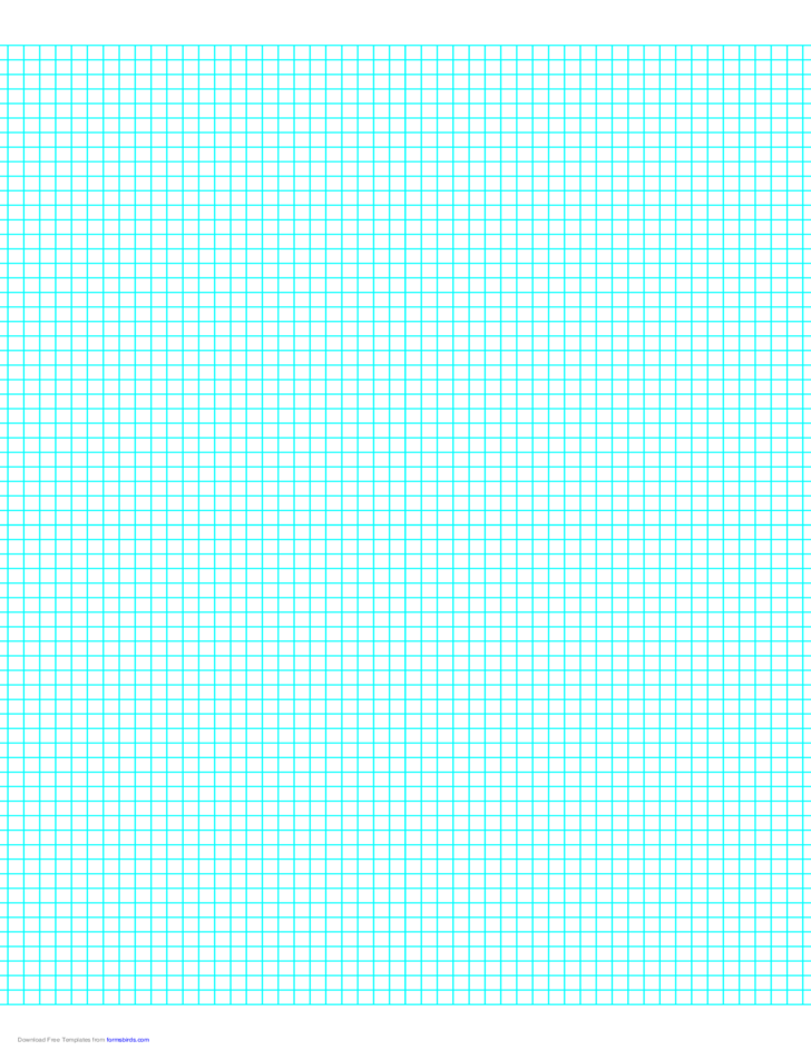 6 Lines Per Inch Graph Paper On Letter Sized Paper Free Download