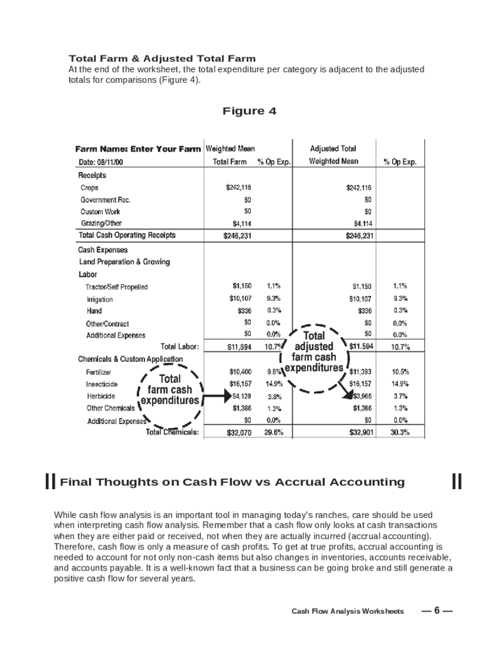 Cash Flow Analysis Worksheet Free Download