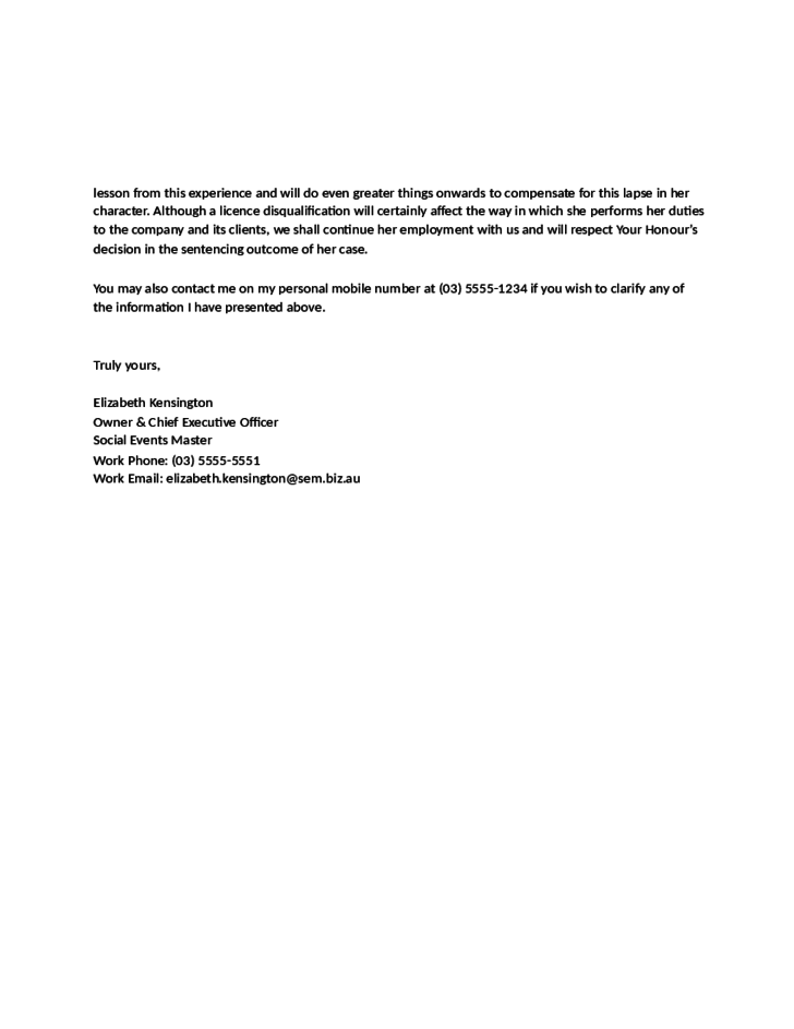 Doc495640 Samples of Reference Letter for Employment Free – Reference Letter from Employer for Rental