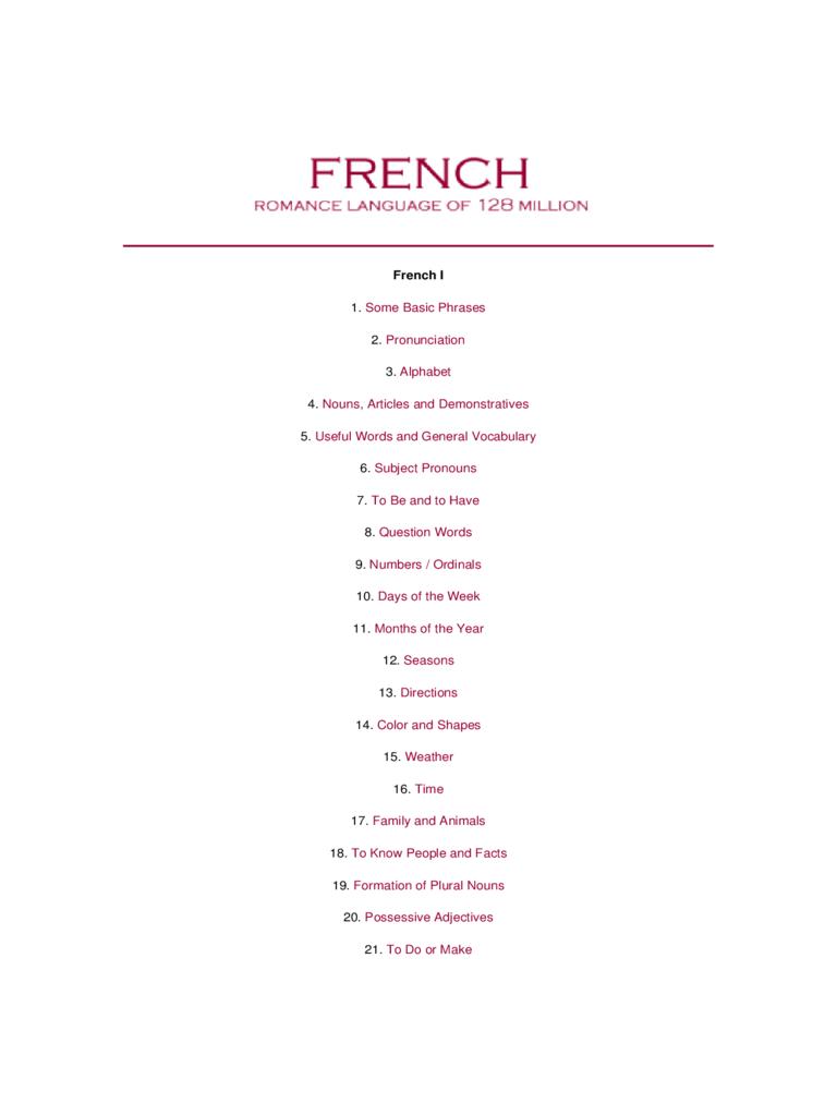 French Alphabet Chart 5 Free Templates In PDF Word Excel Download